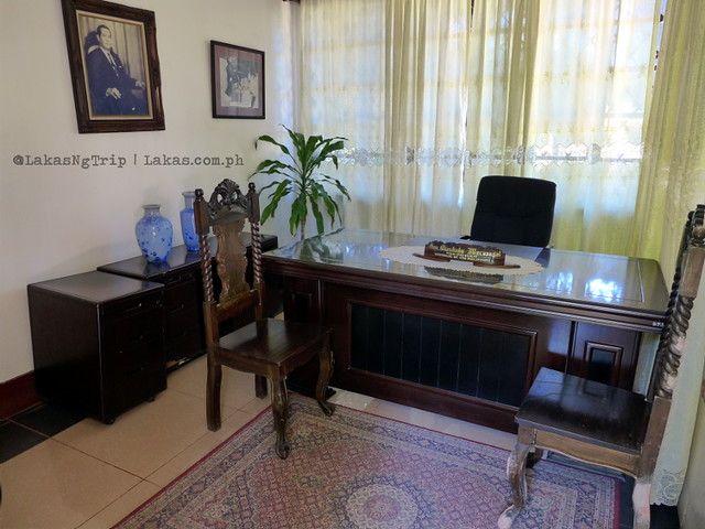 Office at Macaraeg-Macapagal House in Iligan City, Philippines