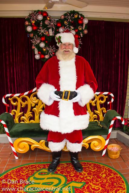 Meeting Santa Claus