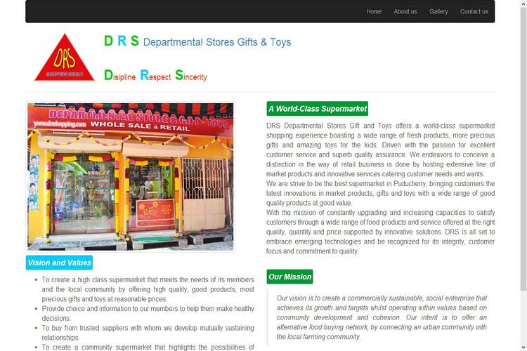 ctcs_client_drs_departmental_store_pondicherry
