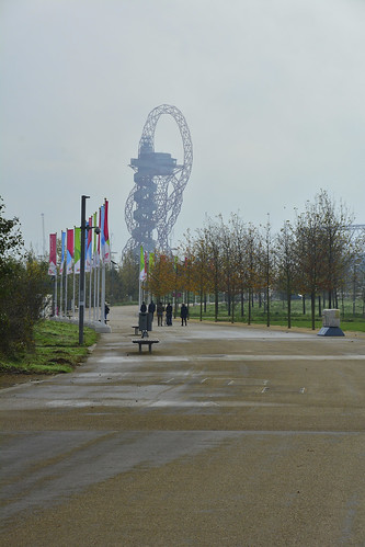 London, Queen Elizabeth Olympic Park, Arcelormittal Orbit