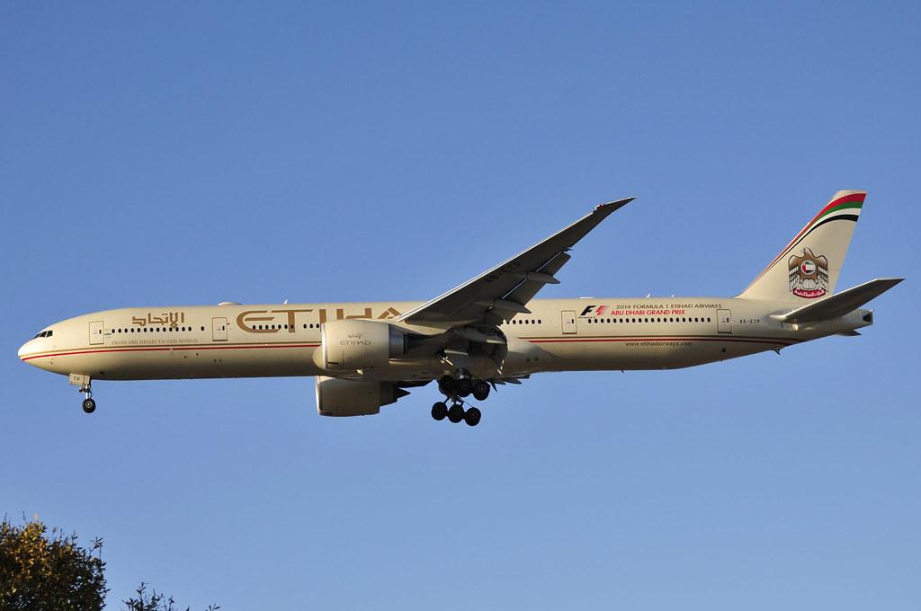 A6-ETP - B77W - Etihad Airways