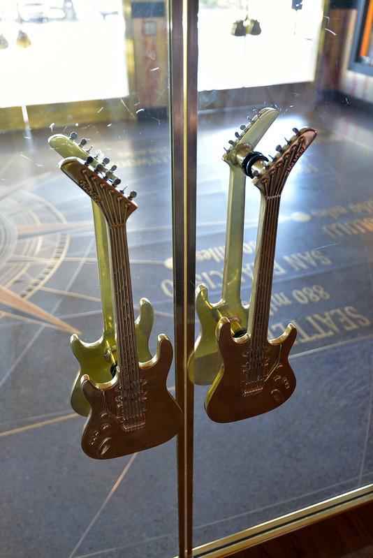 【門把】連門把都做成電吉他的樣子