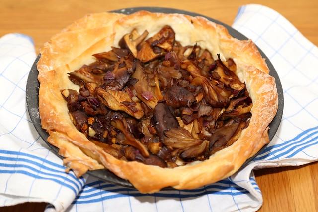 Chinese Mushroom Pie