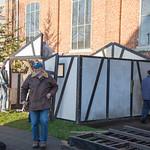 Afbeelding Opbouw Kerststal 2014
