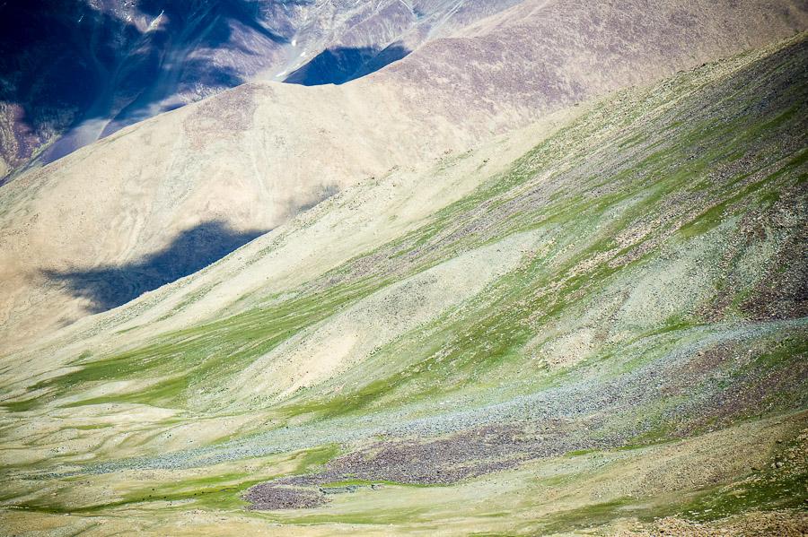 Склоны Долины Нубра. Долина Нубра, Ладакх © Kartzon Dream - авторские путешествия, авторские туры в Индию, тревел фото, тревел видео, фототуры