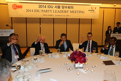 AECR attends IDU Leaders\' meeting in Seoul