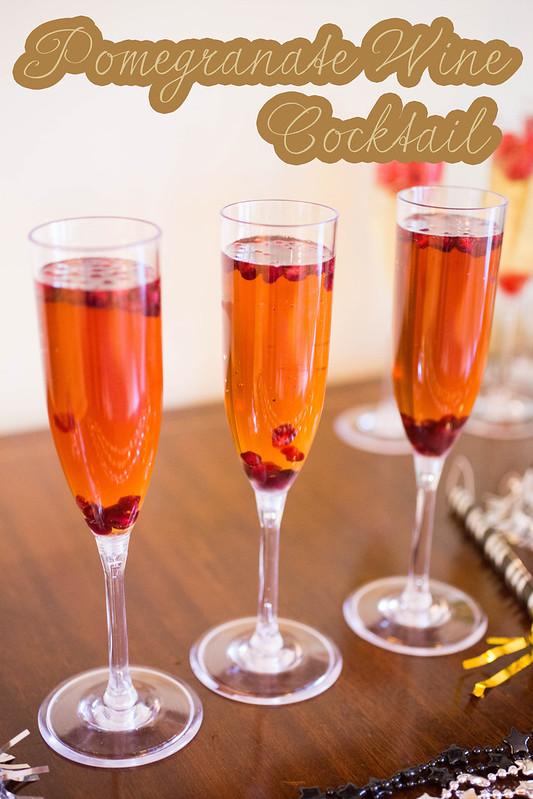 Pomegranate Wine Cocktail