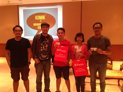 Workshop Penulisan Karakter Komik