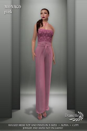 DANIELLE Monaco Pink