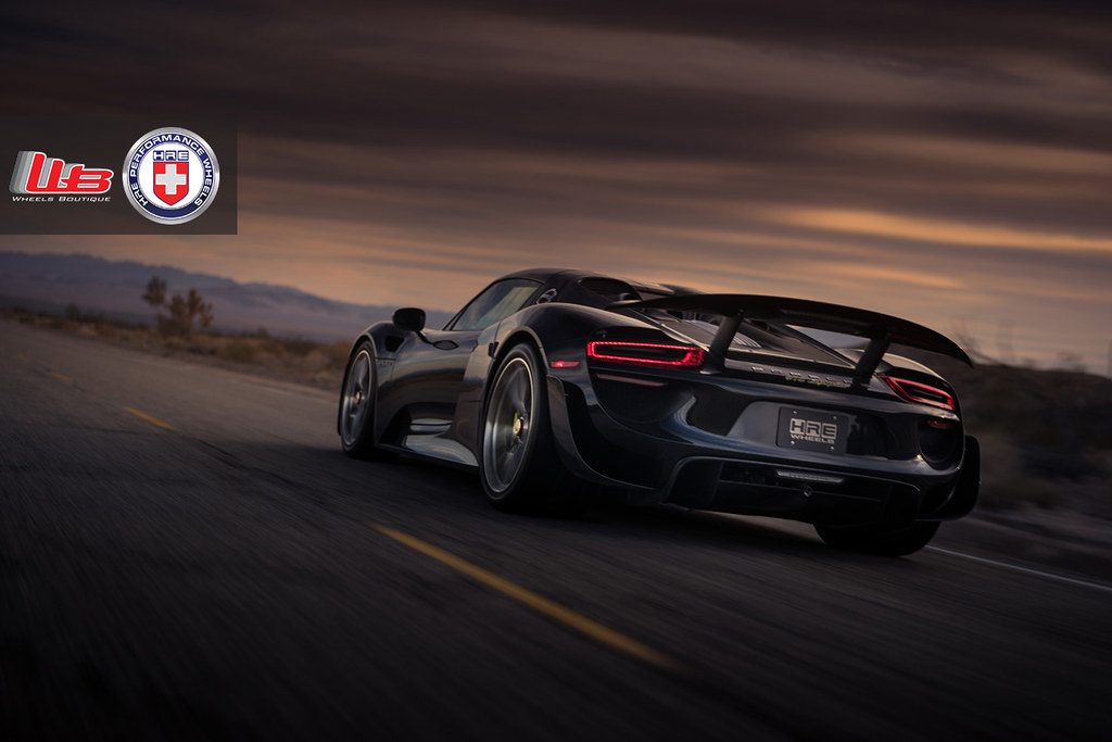 porsche 918 spyder on hre p101 39 s white noise special ferrari life. Black Bedroom Furniture Sets. Home Design Ideas