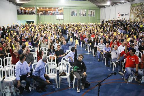Assembleia de encerramento de greve no BB