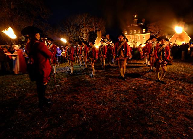 Grand Illumination At Williamsburg Virginia Flickr