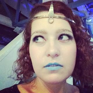 #TooMuchGlitter? #spacegreyparty #selfie