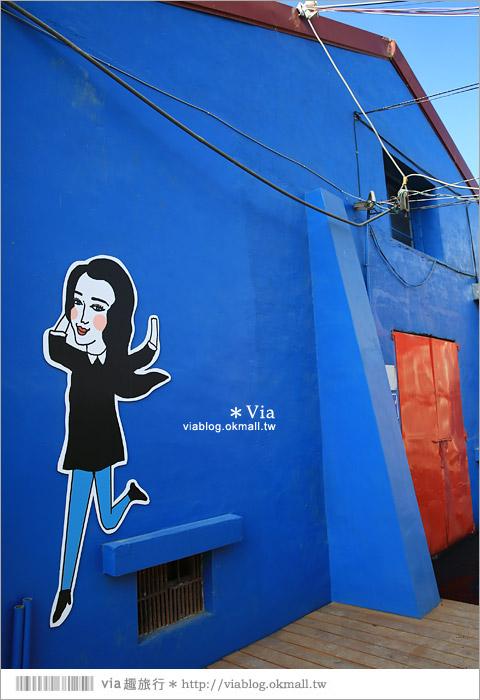 【彰化百寶村】埤頭鄉農會老穀倉大變身!Lu's人氣插畫家加持~繽紛殼倉好Q!6