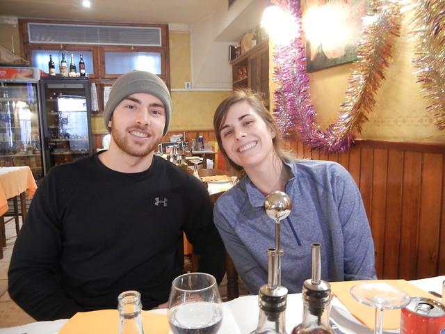 Josh and Lizzie in Sant Pere Pescador