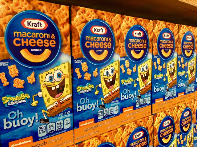 Kraft Mac and Cheese Spongebob