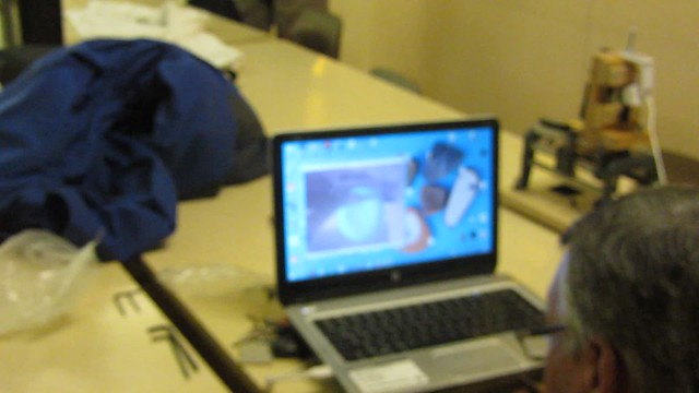 MVI_7601 MikeC webcam telescope mirror test setup