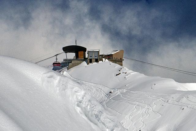 The Stockhorn (Zermatt) (Alt. 3,532 m) at winter time.
