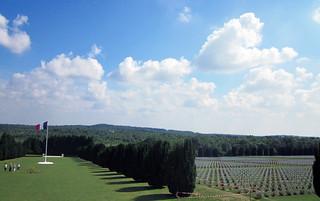 Französischer Friedhof bei Verdun
