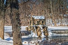 Morristown Dam Winter