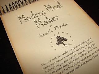1935 Modern Meal Maker by Martha Meade