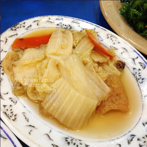 Braised Chinese cabbage