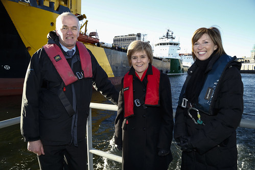 First Minister in Aberdeen