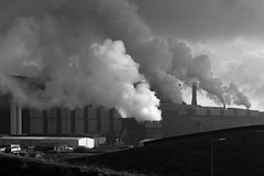 The steel factory
