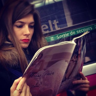 Reading passenger 124 © Eric Imbault