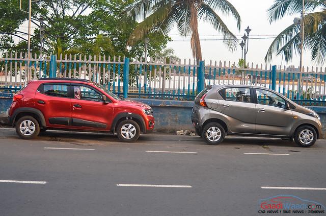 Datsun RediGo vs Renault Kwid: Spec Comparison ...