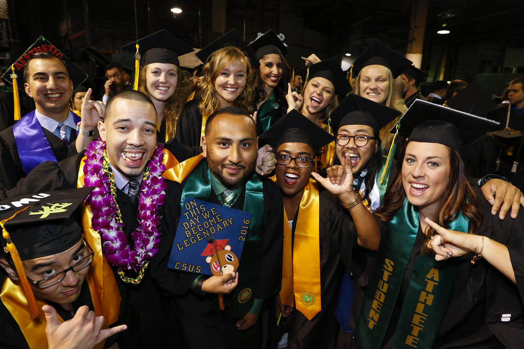 Thumbnail for Winter Commencement 2016 #SacStateGrad