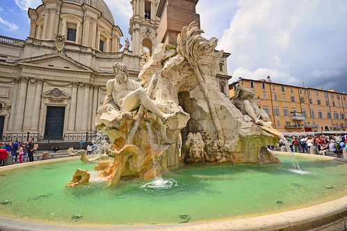 Fiumi Fountain
