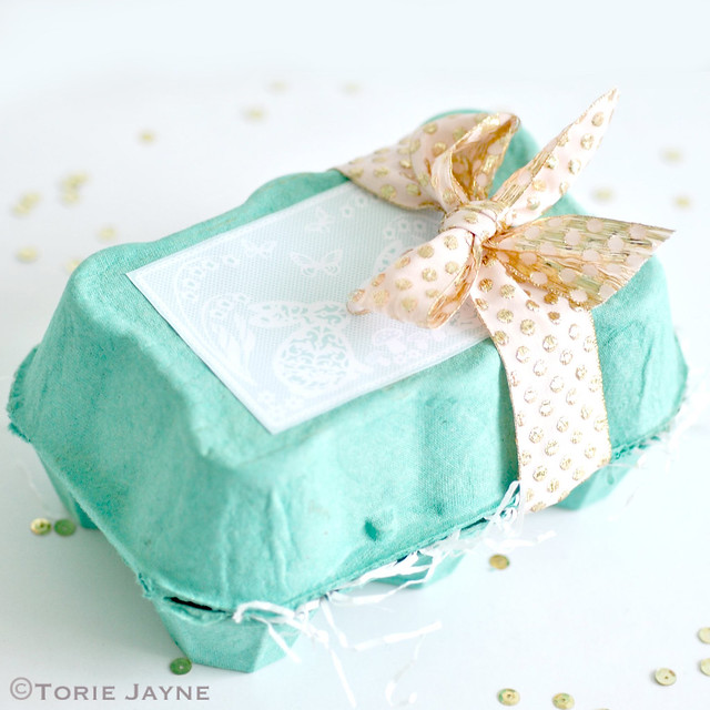 Pretty Easter Egg Box tutorial