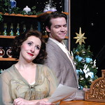 She Loves Me - Photo Credit P. Switzer Photography 2014 - Pictured L-R: Julia Jackson (Amalia) and Andrew Russell (Georg).