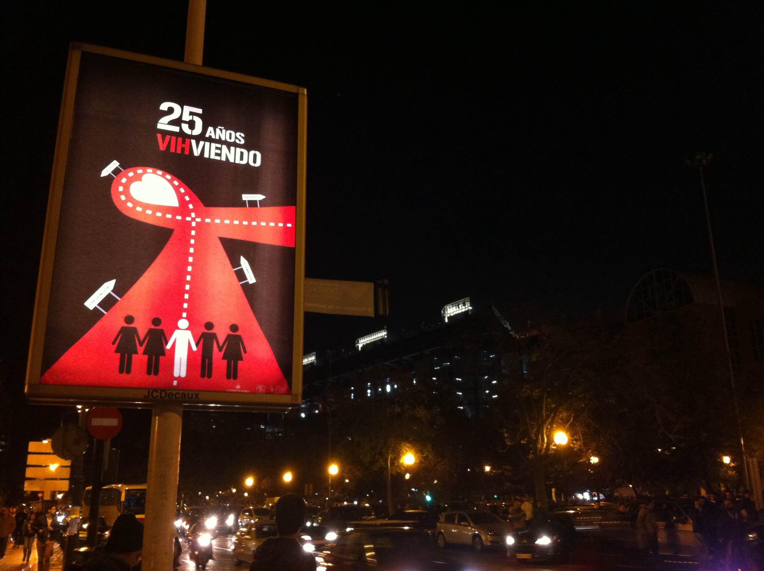02-cartel aniversario 25 años sontra el sida