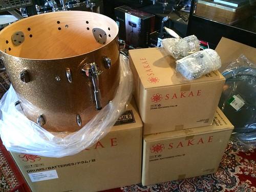 Sakae Almighty drum kit