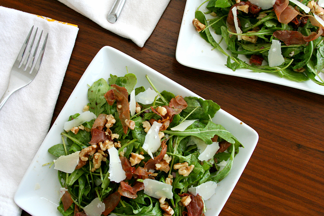 arugula salad figs prosciutto 6