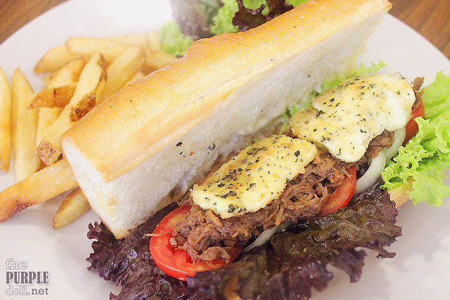 Adobo Pulled Pork Sandwich (P265)