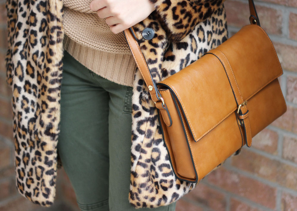 brown-flap-satchel-and-leopard-print-coat