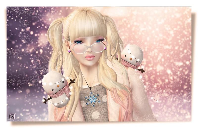 Pink Snowdrift.