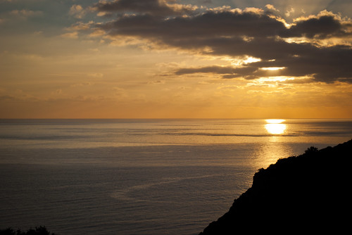 sunset orange sun seascape beauty set swansea wales clouds landscape photography three nikon natural south documentary cliffs area gower outstanding oxwich pennard d3000