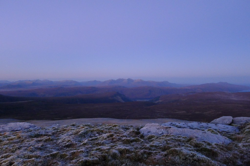 First light on An Teallach