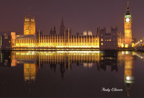 bridge houses reflection london thames big long exposure ben illumination parliament noght londonist colurs londoni