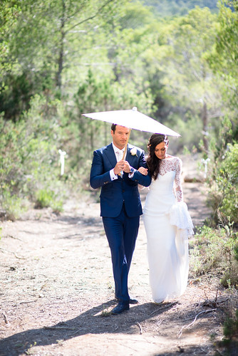 Real Ibiza wedding: Stephanie & Jonathan by Gypsy Westwood