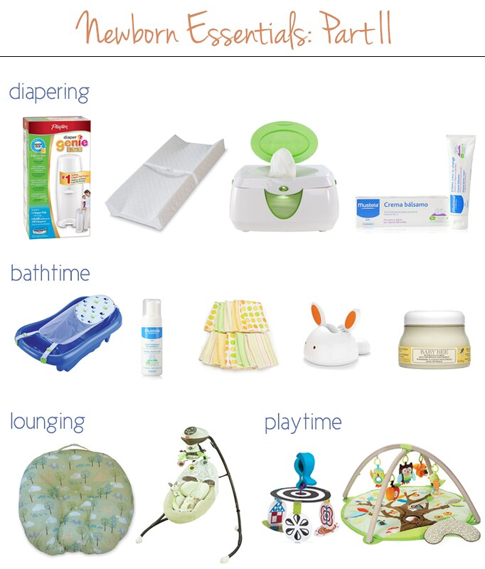 cute & little blog | newborn essentials, part 2