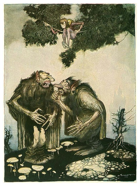 002-Grimm's Fairytale Treasure-1923- Illust. Gustaf Tenggren-via Animation Resources