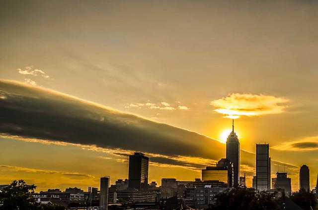 Indianapolis Indiana Skyline Flickr Photo Sharing