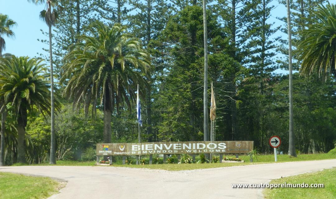 Llegada al Parque Nacional de Santa Teresa
