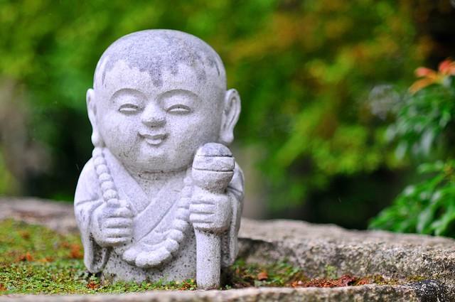 Buddha statue on Mount Misen