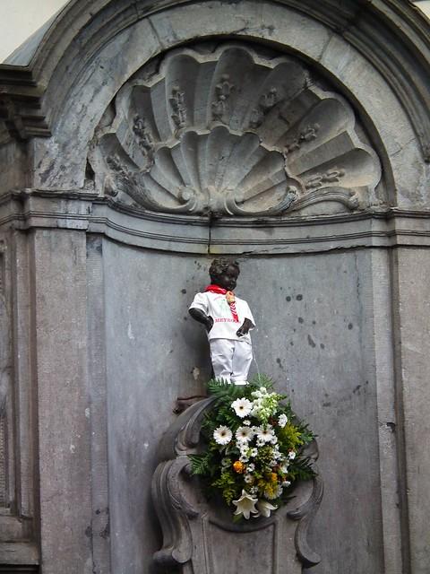 Manneken Pis - Brussels, Belgium